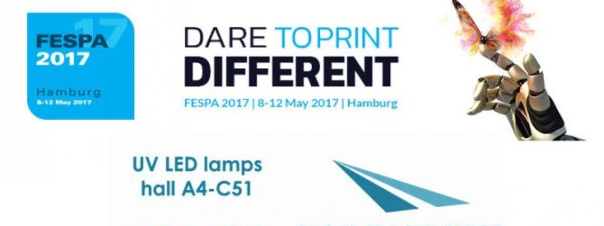 Fiera FESPA 2017 Hamburg 8-12 maggio Registrati per l'ingresso gratuito!