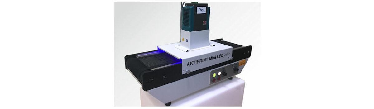 Technigraf GmbH sceglie UV LED Droled di Photo Electronics per Aktiprint Mini LED Plus