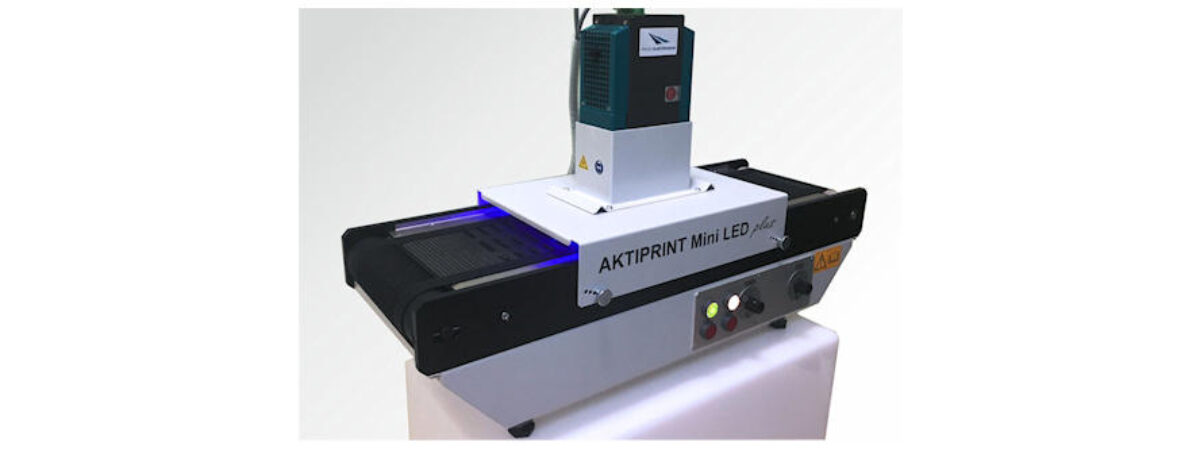 Technigraf GmbH sceglie UV LED Droled di Photo Electronics per Aktiprint Mini LED Plus